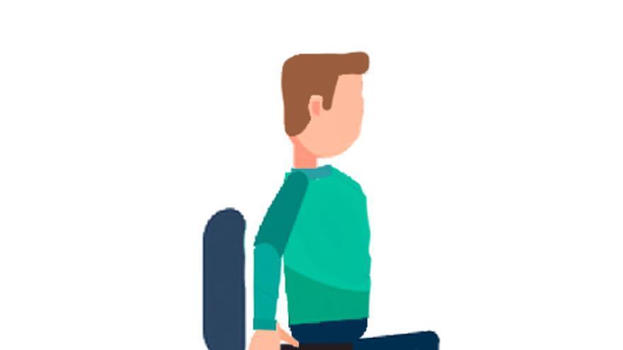 10 ejercicios que puedes hacer en la oficina sin que se note