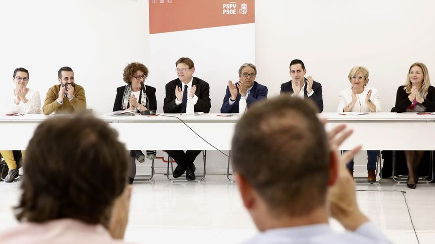 Ximo Puig preside la ejecutiva del PSPV