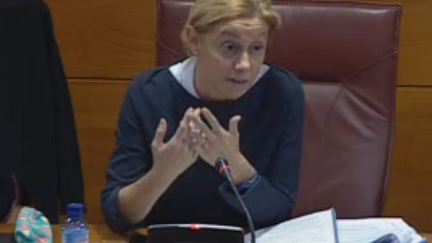 La exconsejera de Economía de Cantabria, Cristina Mazas (PP).