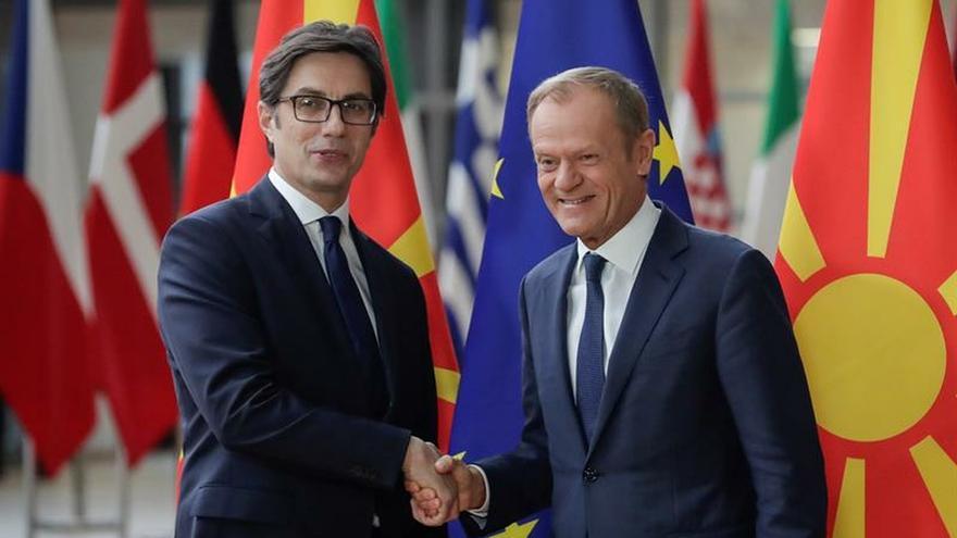 Tusk cree que no hay unanimidad para negociar acceso de Macedonia del Norte