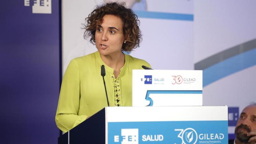 """Montserrat cree que es el """"momento óptimo"""" para un Pacto de Estado de Sanidad"""