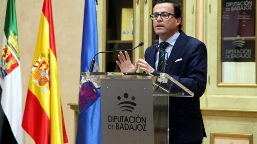 Miguel Ángel Gallardo, presidente de la Diputación de Badajoz