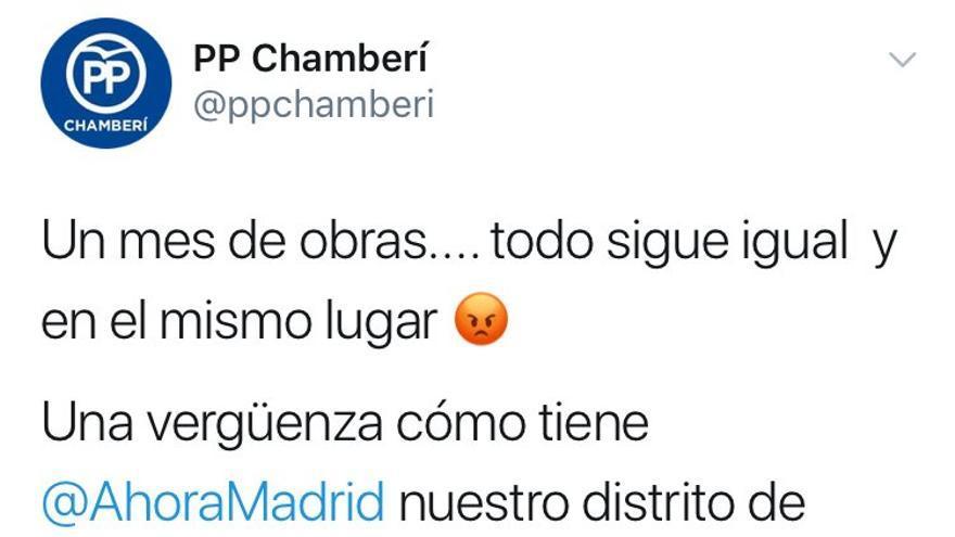 Tuit PP Chamberí
