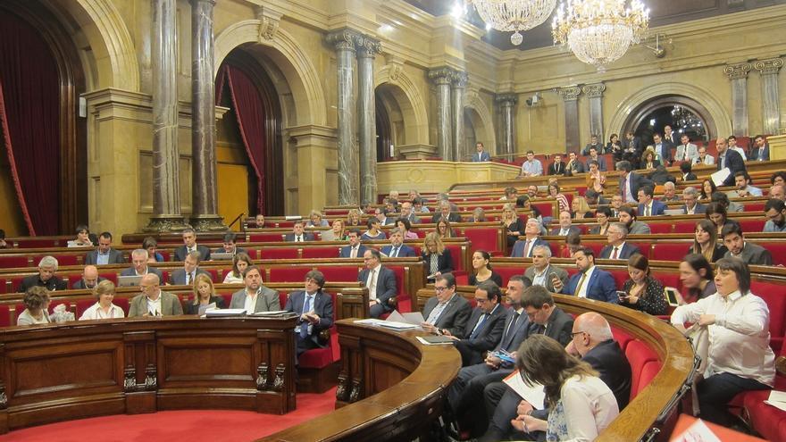 CDC y ERC se dividen de nuevo en el Parlament en una votación sobre la reforma laboral