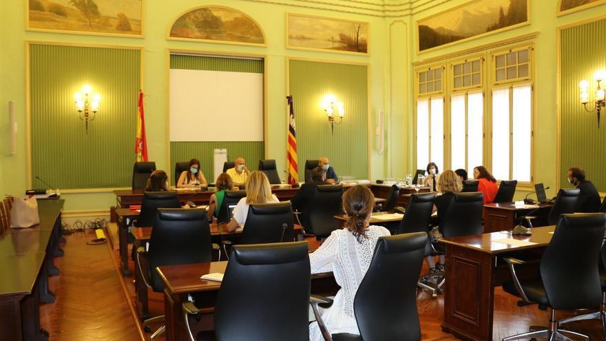 Comisión de Asuntos Sociales, Derechos Humanos y Deportes, en el Parlament.