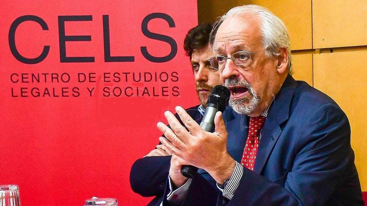 Horacio Verbitsky pide licencia al frente del CELS.