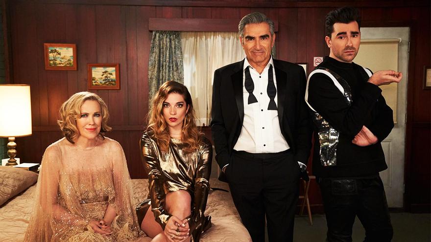 De qué va y dónde se ve en España 'Schitt's Creek', la comedia triunfadora de los Emmy 2020