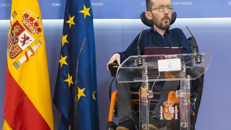 """Unidas Podemos dice que sumar al PP al acuerdo sobre la UE facilitará Presupuestos """"progresistas"""""""