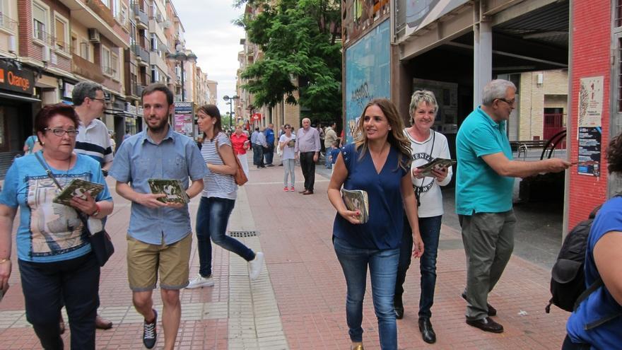 """Sumelzo (PSOE): """"Estamos trabajando para cambiar el país y queremos un gobierno limpio"""""""