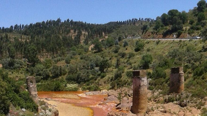 Junta activa el nivel 1 del Plan Territorial de Emergencia por el vertido de agua de la mina de La Zarza