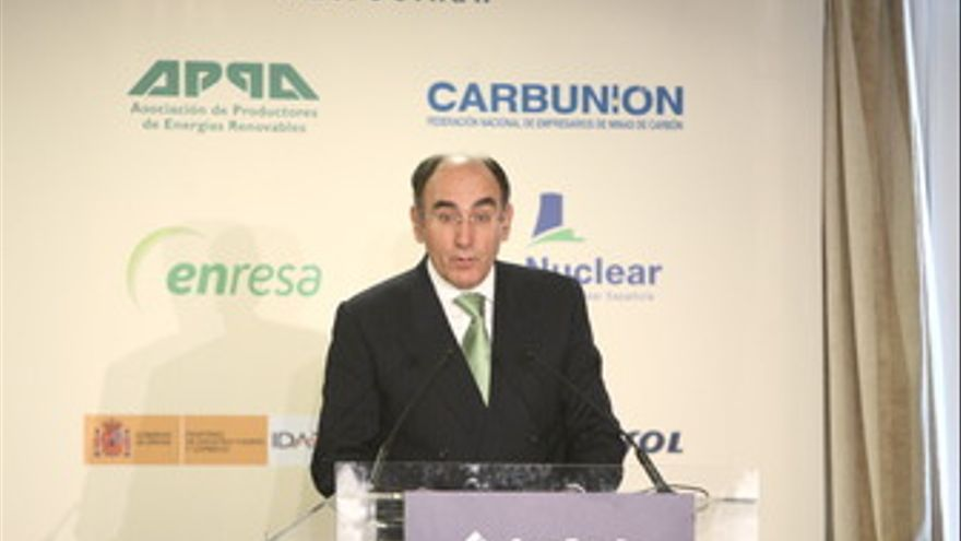 Presidente de Iberdrola, Ignacio Sánchez Galán