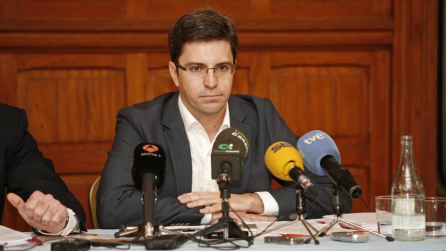 El candidato al Ayuntamiento de Arucas por Ciudadanos, Ruymán Santana