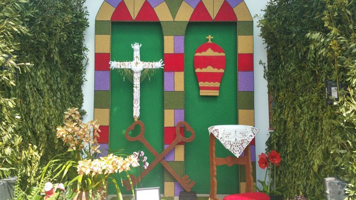 Imagen de archivo de la Cruz del barrio de Miranda.