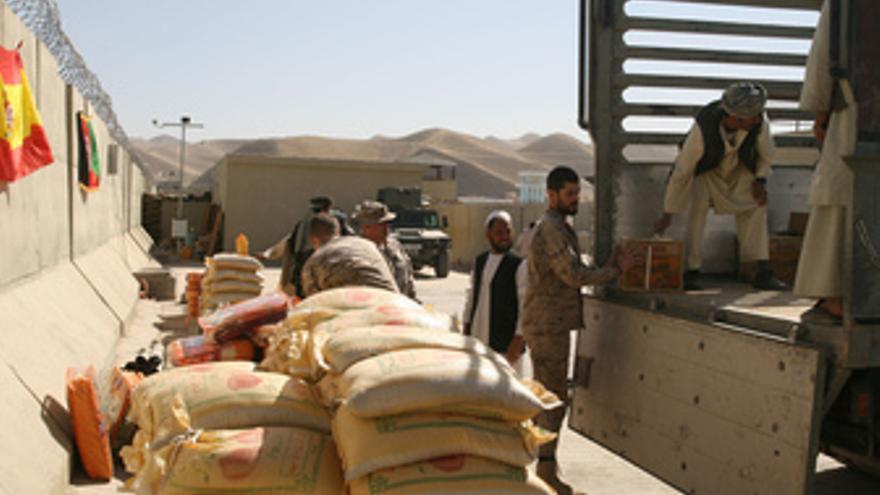 Ayuda en Afganistán