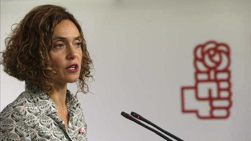 El PSOE aboga por el diálogo aunque se apruebe la moción independentista
