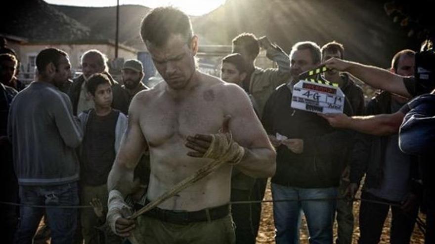 El protagonista de 'Bourne', Matt Damon