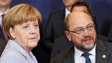 Las negociaciones de Merkel y Schulz retrasan la mejoría económica de Europa