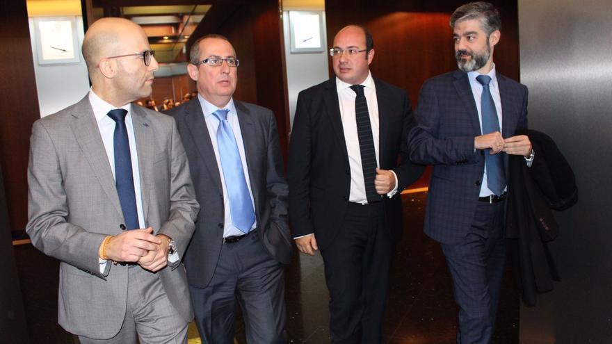 Pedro Antonio Sánchez con Murcia Seniors Club