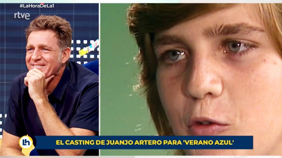 Juanjo Artero, viendo su casting para 'Verano azul'
