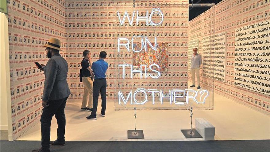 Art Basel Miami Beach, una cita insolente que anuda arte y espectáculo