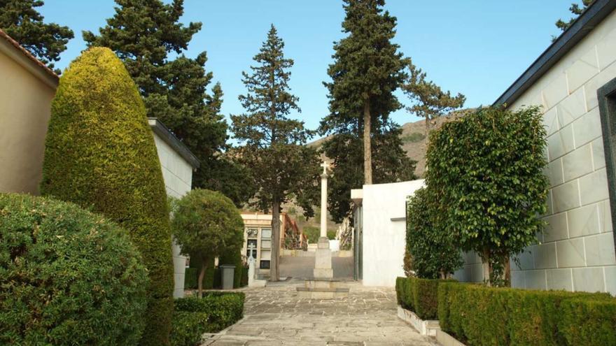El cementerio parroquial de Orihuela (Alicante).
