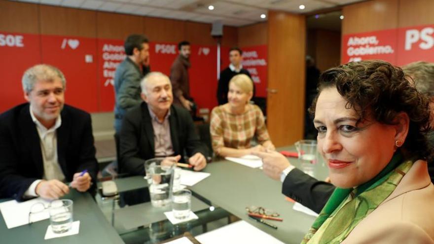 El PSOE se compromete a apoyar la subida de pensiones con eI IPC tras las elecciones