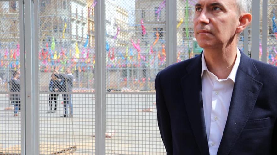 El portavoz municipal de Vox en València, Pepe Gosálbez