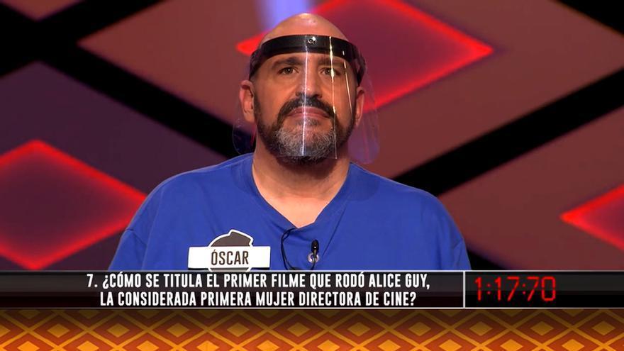 Óscar García, de Los Dispersos, en 'Boom'