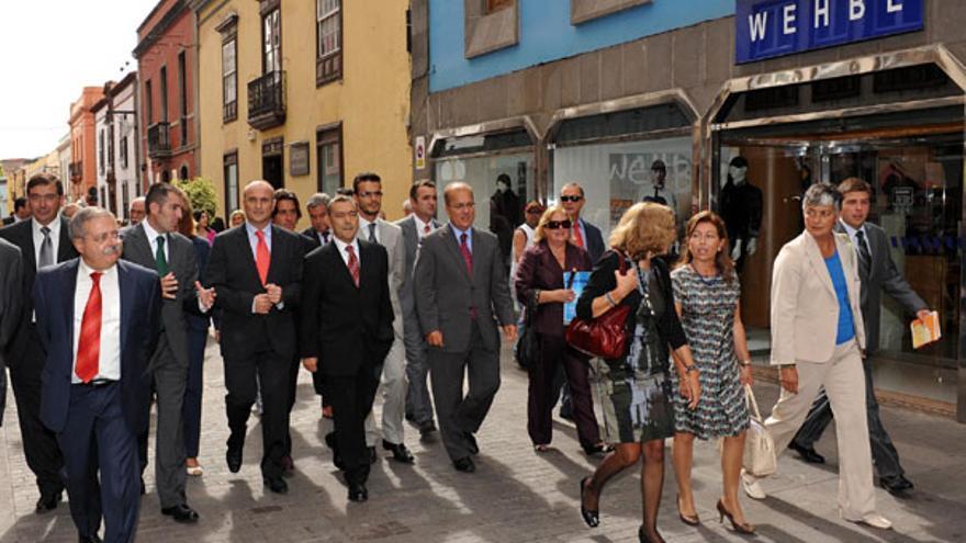 De la entrega del Premio Nacional de Comercio Interior a La Laguna #10