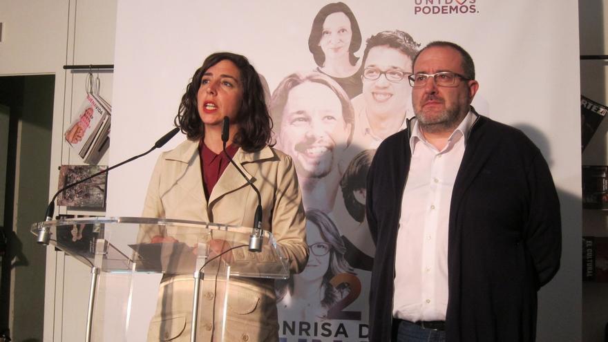 """Unidos Podemos espera celebrar un día """"histórico"""" y destaca que """"todo apunta a un gobierno de cambio"""""""
