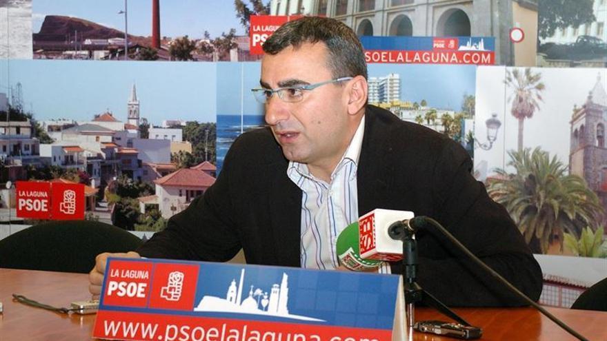 Javier Abreu, primer teniente de alcalde del Ayuntamiento de San Cristóbal de La Laguna. Europa Press.
