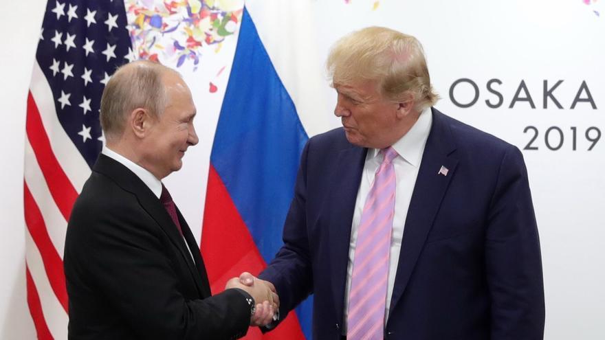 Unos documentos sugieren que Putin interfirió para llevar a Trump al poder