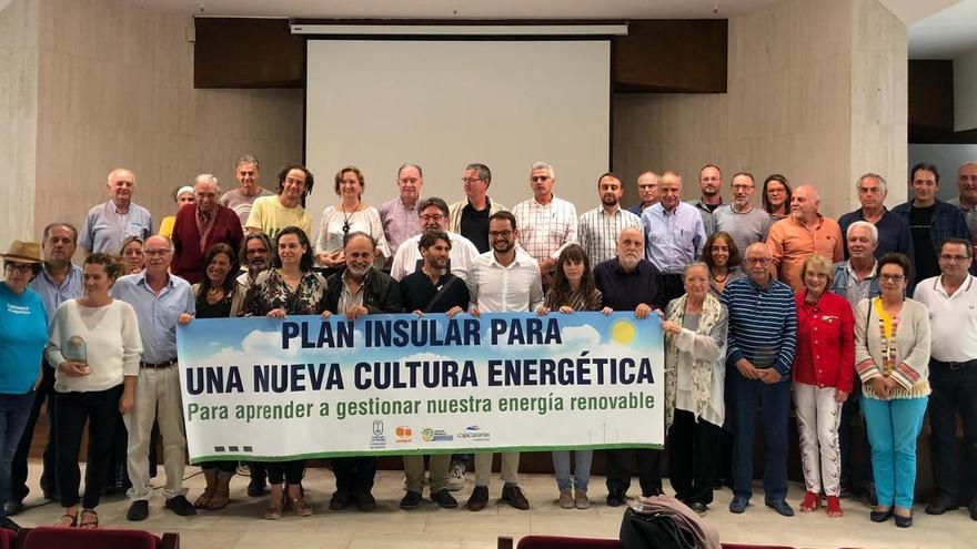 Imagen de archivo de las II Jornadas de Transición Energética de La Palma.