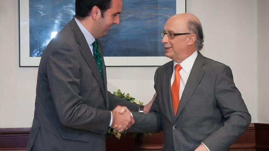 UPN se reúne con Montoro, que se compromete a que el TAV y el Canal de Navarra tengan apoyo presupuestario del Estado