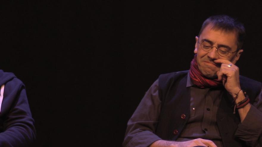 Juan Carlos Monedero en las charlas de Revista Mongolia