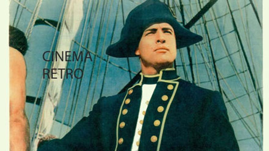 Marlon Brando a todo color en Rebelión a Bordo