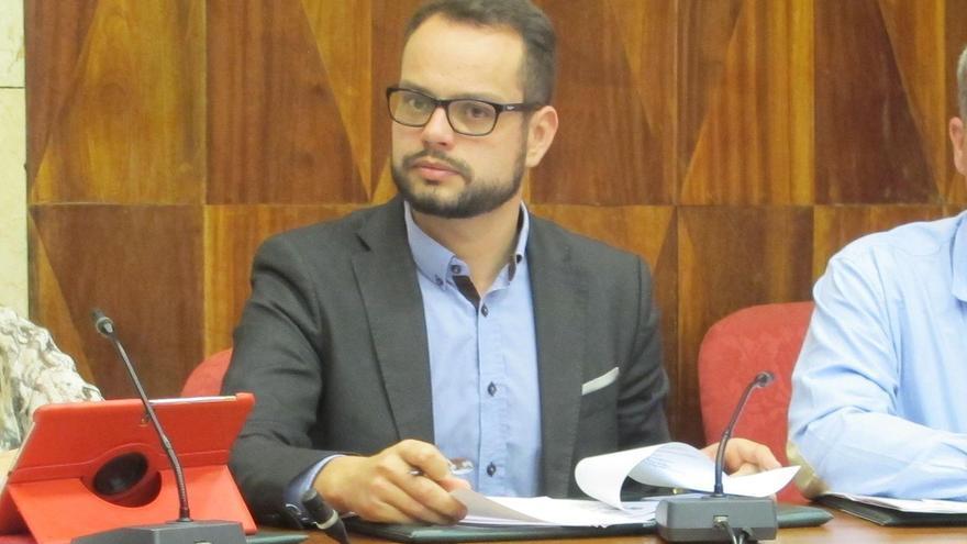 Jordi Pérez Camacho, consejero de Promoción Económica, Comercio y Empleo del Cabildo de La Palma.