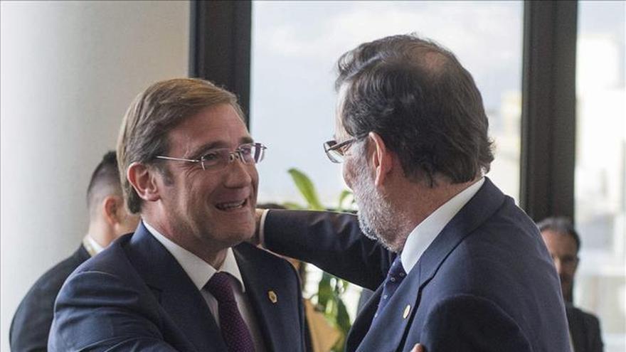 Passos Coelho defiende la unidad de España y avisa a los catalanes de la pérdida de derechos