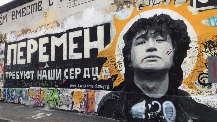 Víktor Tsói, el rockero ruso bandera de cambios 30 años después de su muerte