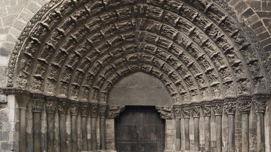 Comienzan los estudios previos de la Puerta del Juicio de la Catedral de Tudela
