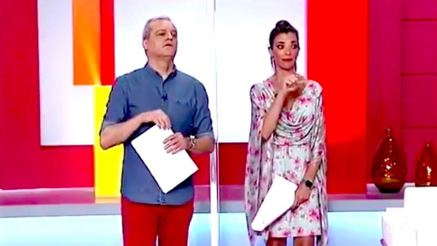 Ramón García y Gloria Santoro en 'En compañía'