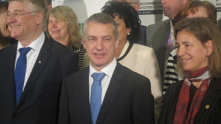 """Urkullu pide al PP como primer gesto de su cambio de talante """"cumplir el Estatuto de Gernika"""""""