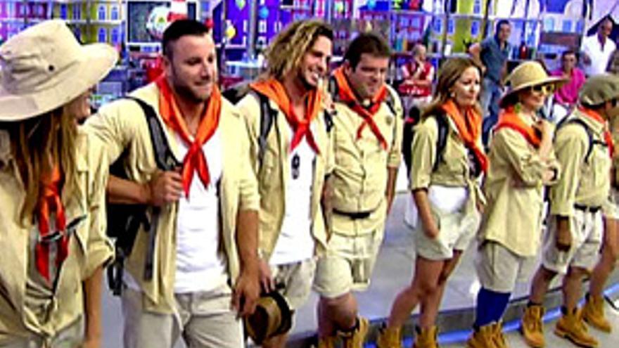 Los 'scouts' de Telecinco, rumbo al 'Campamento de Verano'
