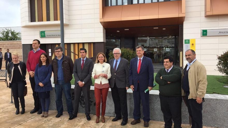 El SAE invierte 1,37 millones en la nueva oficina de Lebrija, que atenderá a más de 8.000 demandantes de empleo