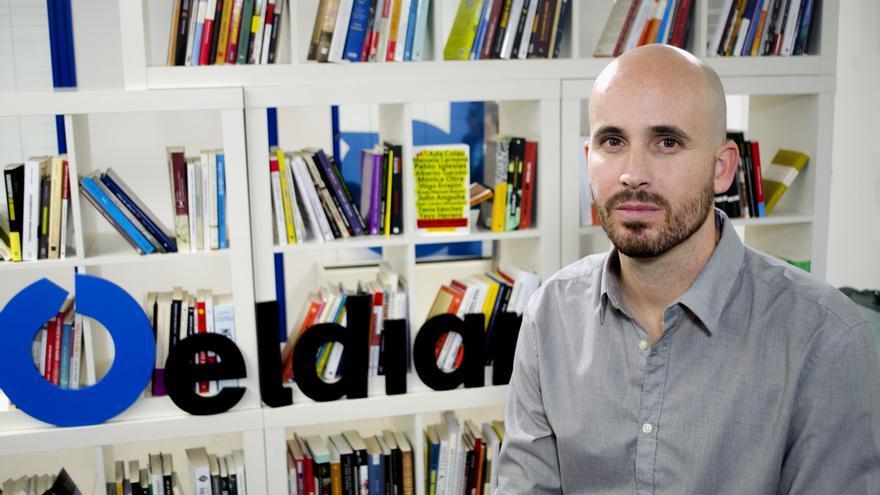 Nacho Álvarez, responsable del programa económico de Podemos \ Foto: Alejandro Navarro Bustamante