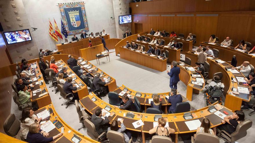 Cortes de Aragón. Foto: Juan Manzanara