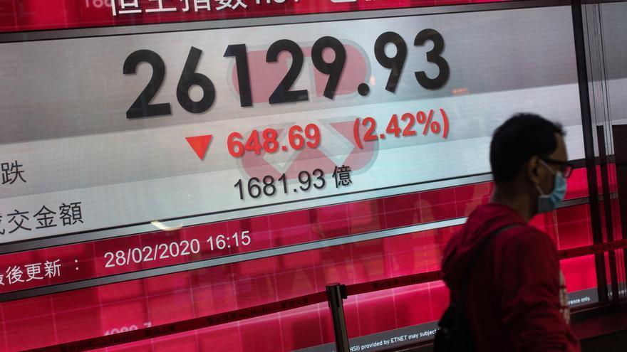 La Bolsa de Hong Kong sube un 2,85 % tras entrar en vigor la ley de seguridad.