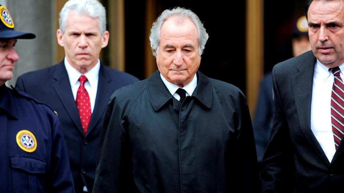 Bernard Madoff en una imagen de archivo
