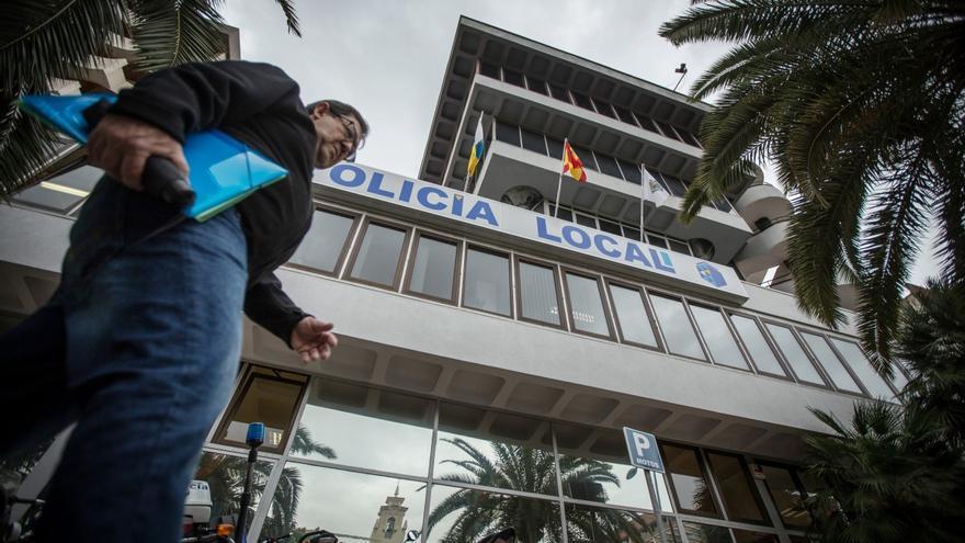 Sede central de la Policía Local santacrucera, en la avenida de Tres de Mayo