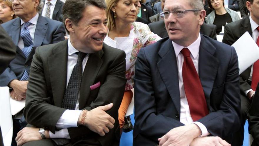 """Ruiz-Gallardón: """"Tenemos la mejor alcaldesa de Madrid que podríamos tener"""""""